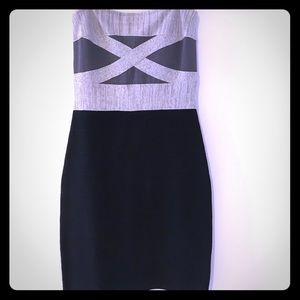 Guess bodycon strapless dress 👗